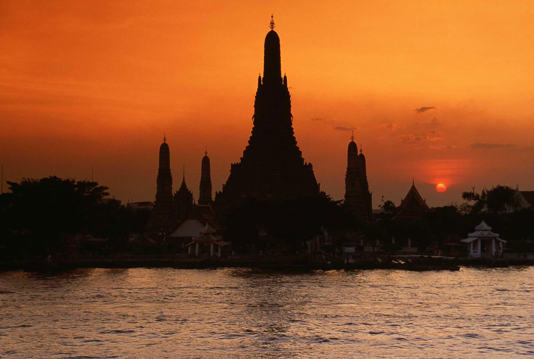 Tempelanlage Wat-Arun