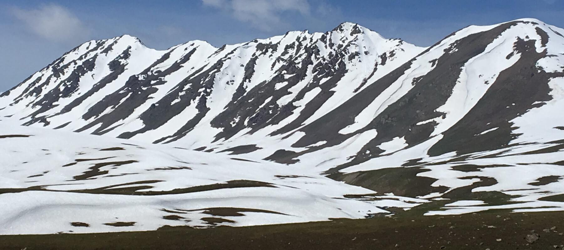 Kirgistan ist im Vergleich zu anderen Ländern sehr dünn besiedelt.