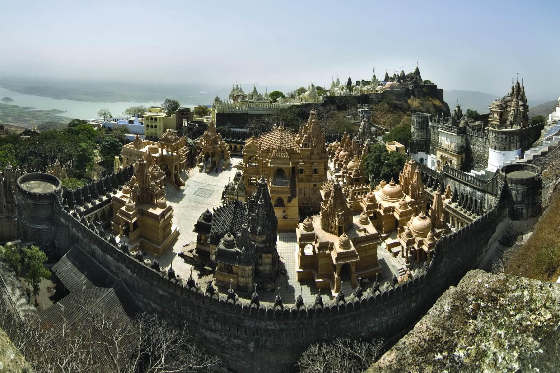 Jain-Tempel in Palitana