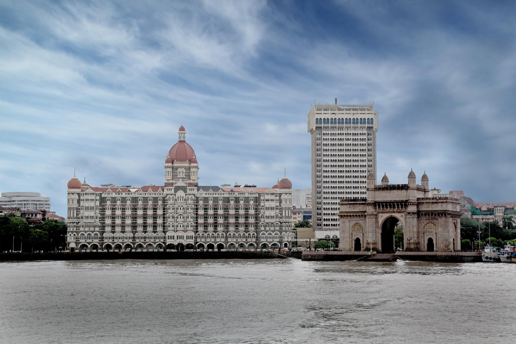 Gateway of India Mumbai in Westindien