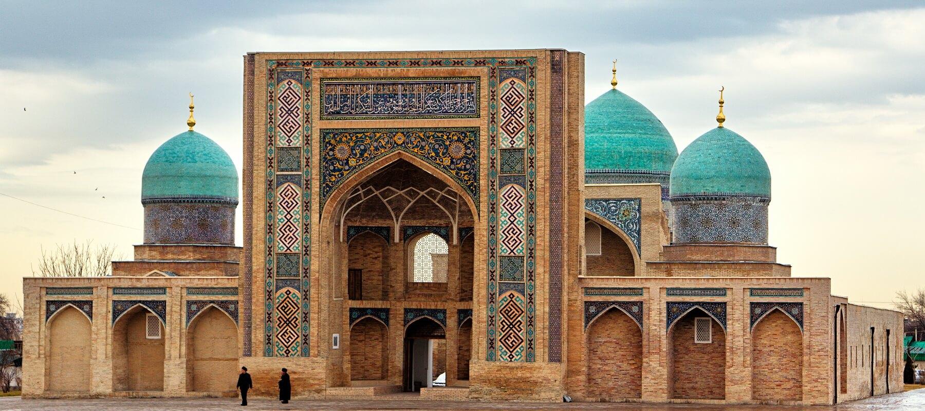 Der Hazrat Imam Platz mit der Hazrat Imam Moschee ist das religiöse Herz von Taschkent
