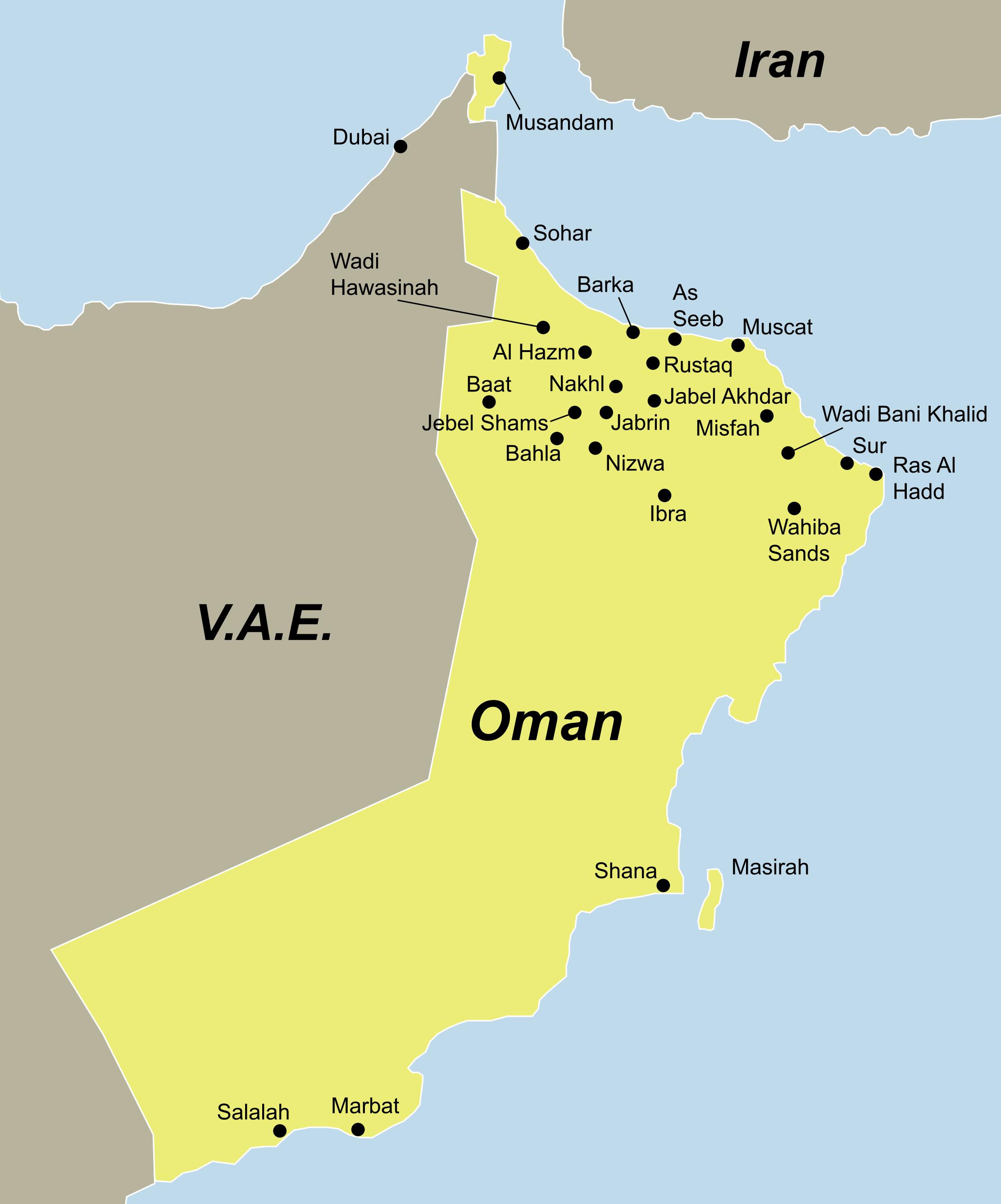 Oman - ein Traumziel aus 1001 Nacht