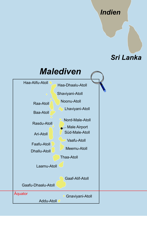 Malediven Reise