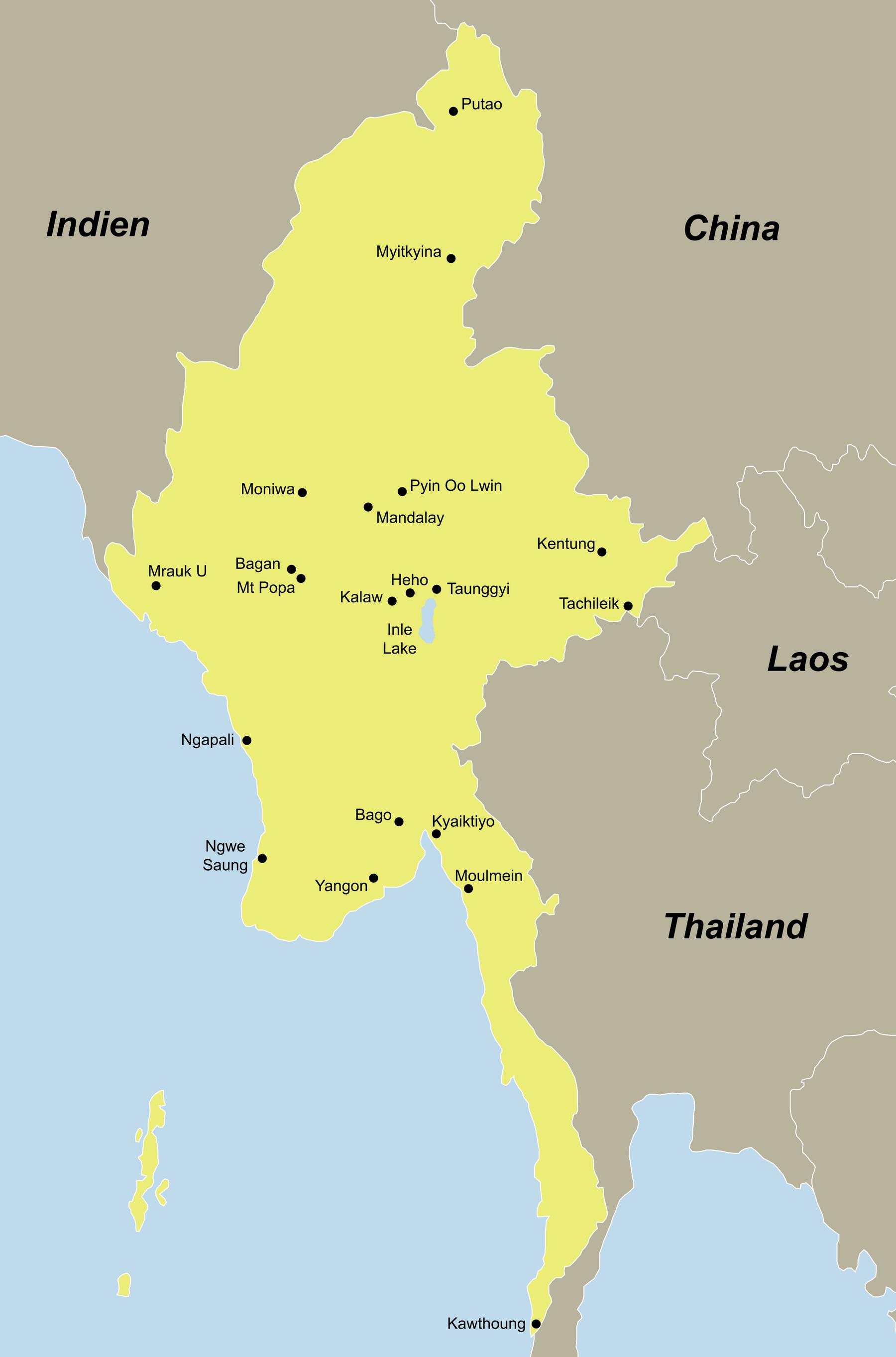 Ihre Myanmar Reise mit dem Asien Spezialisten reisefieber reisen