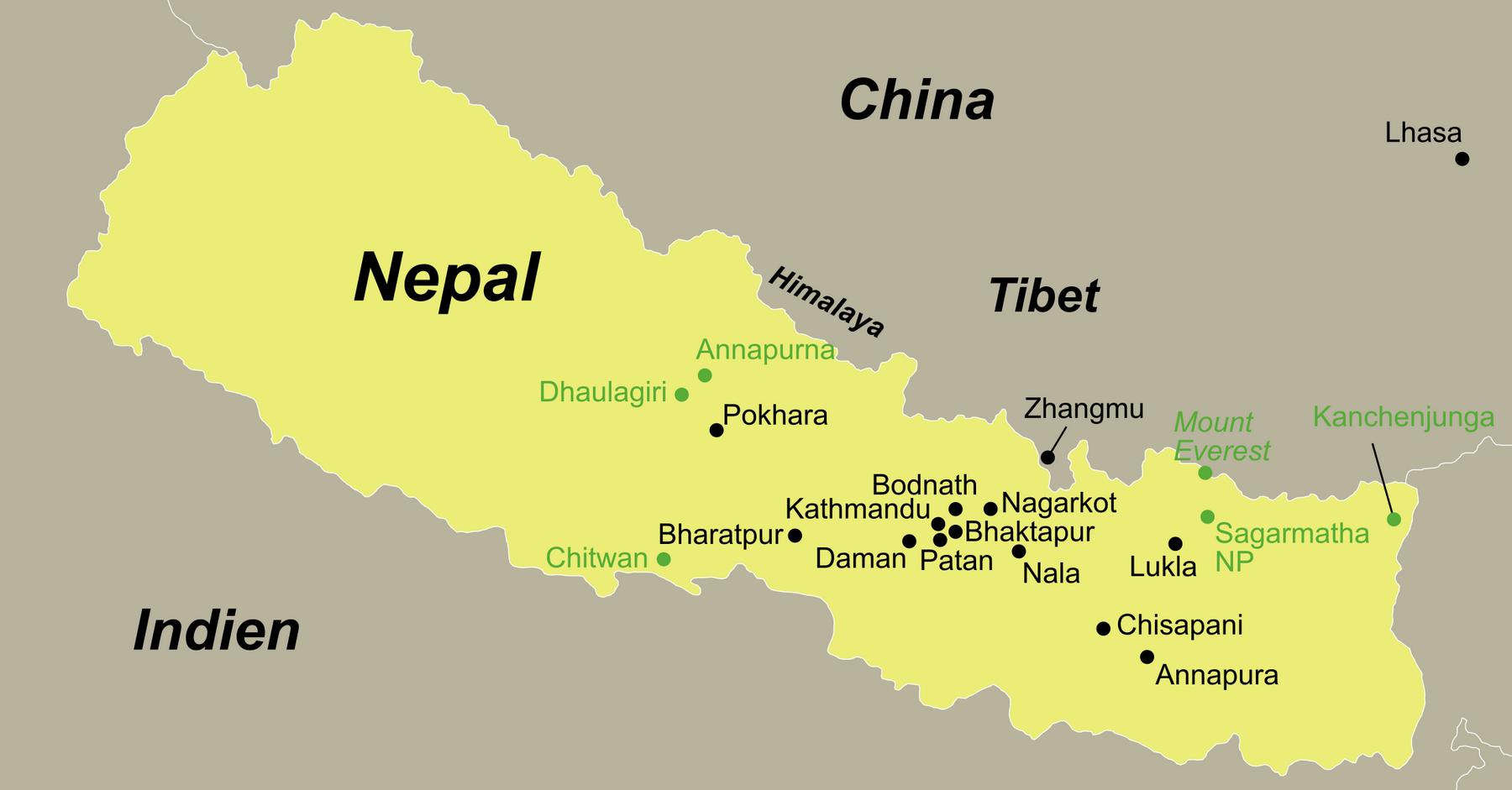 Nepal Reise