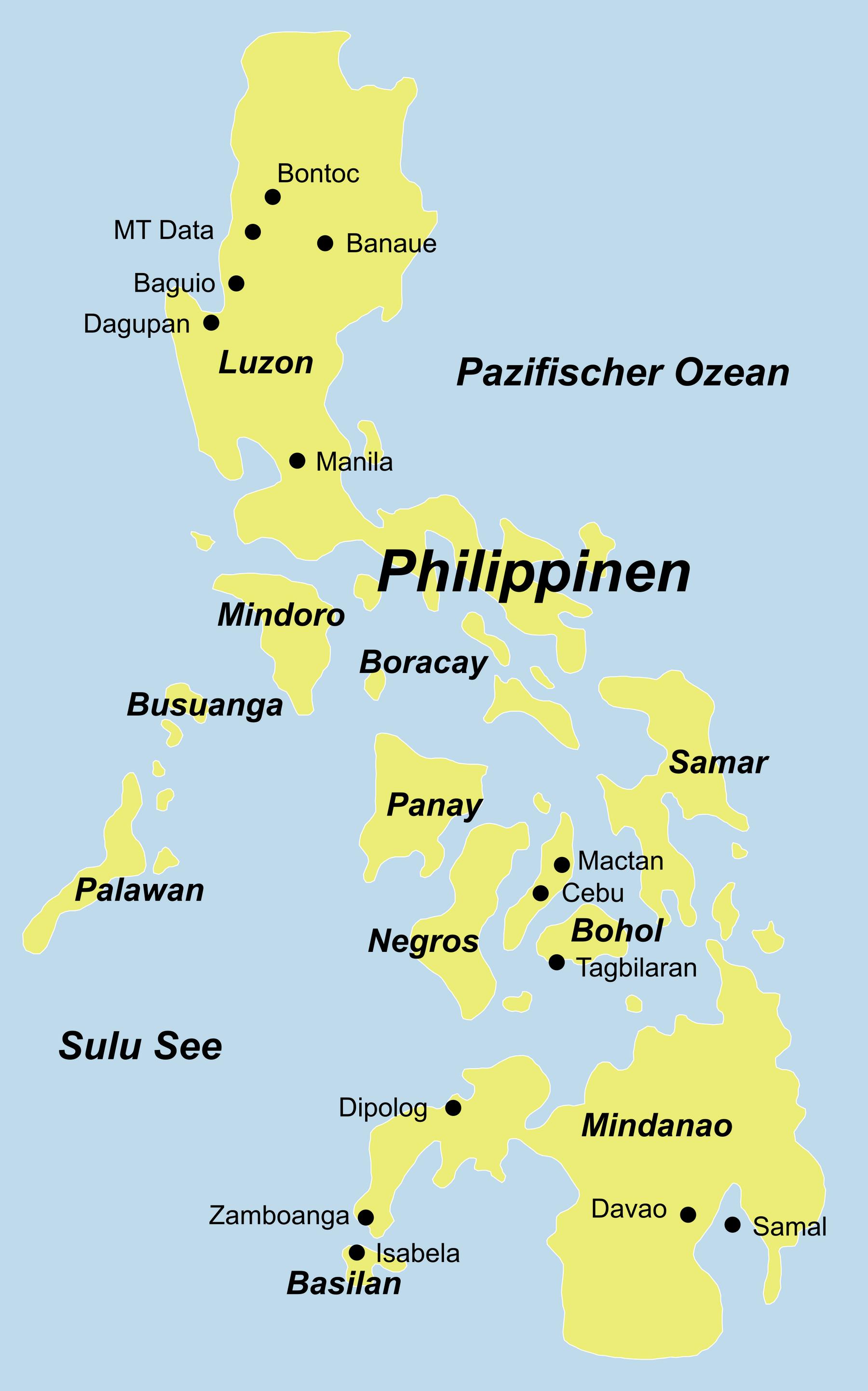 Philippinen Reise