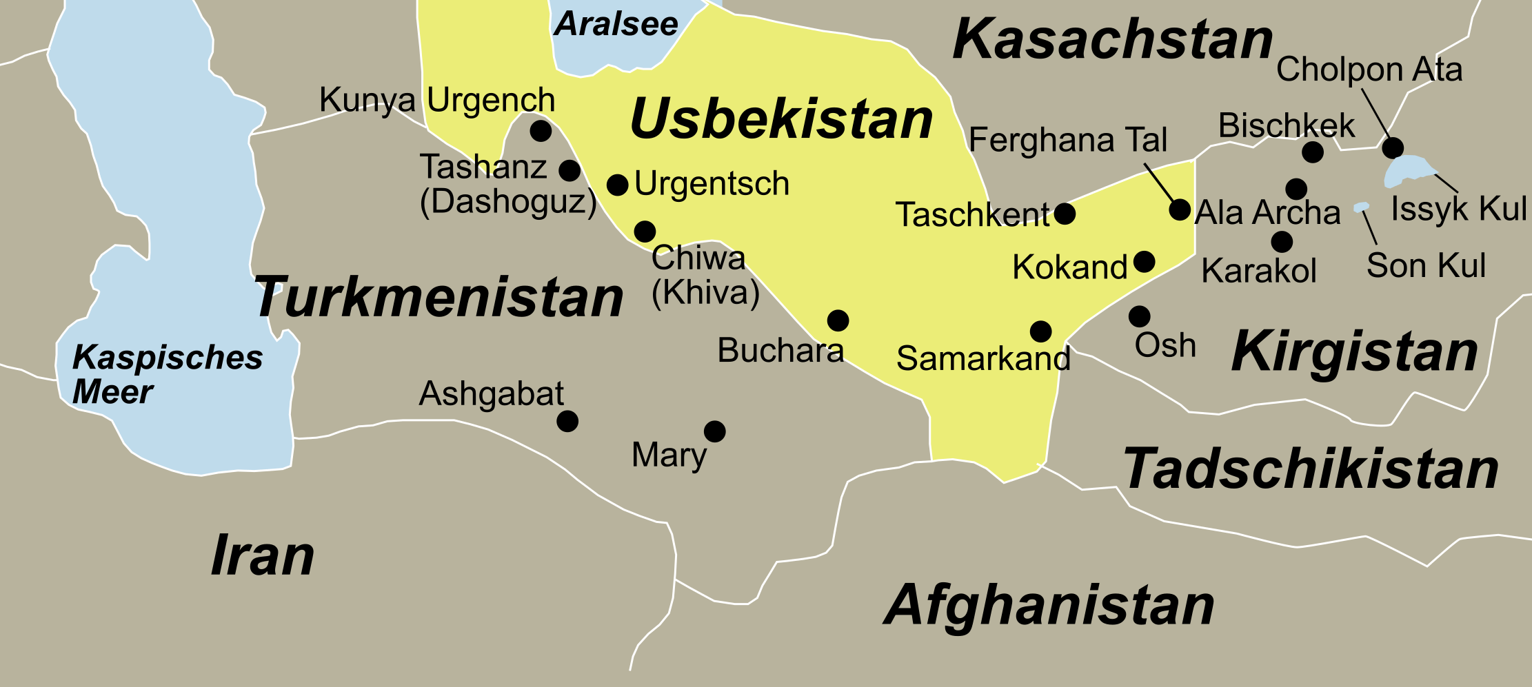 Alle Informationen zu Usbekistan, dem geheimnisvolle Land an der Seidenstraße finden Sie bei Reisefieber Reisen