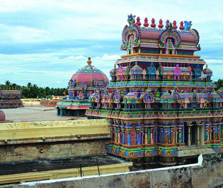 Der Meenakshi Tempel in Madurai zählt zu den größten und beeindruckendsten Hindu-Tempeln und gilt als Südindiens wichtigstes hinduistisches Bauwerk.
