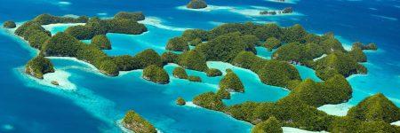 Die Rock Islands in Palau sind eine Inselgruppe im Westpazifik, die vor allem unter Tauchern sehr beliebt ist.
