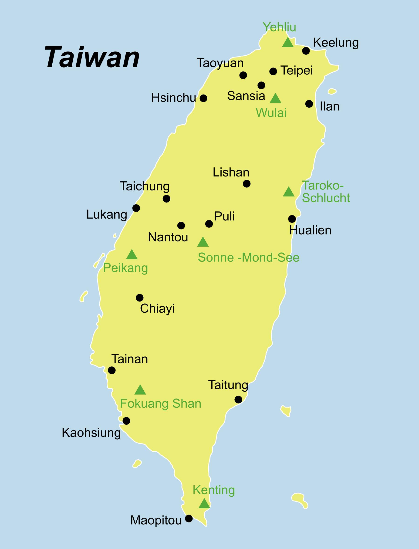 Taiwan Reise