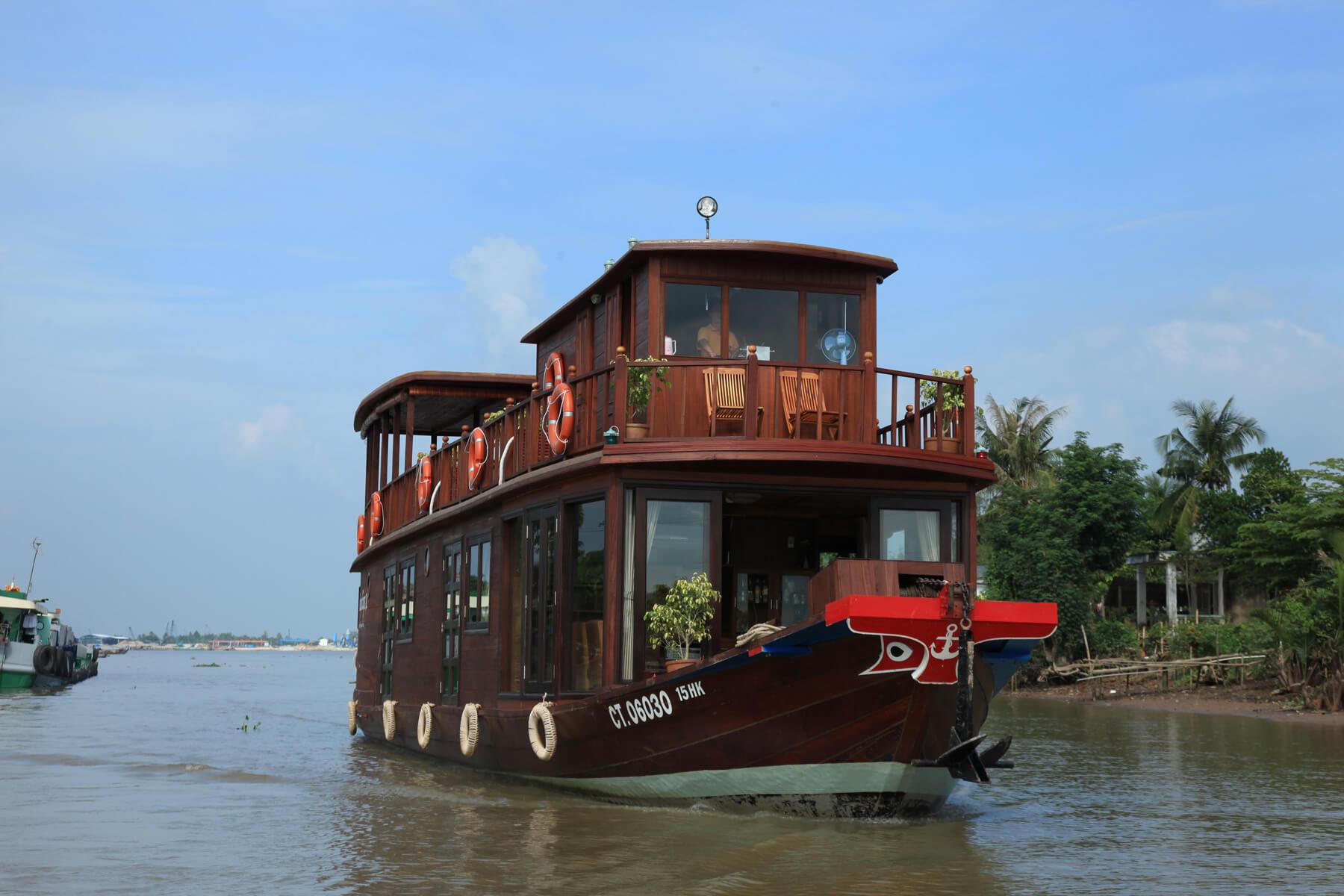 Mekong Delta Tour: Flusskreuzfahrt von Vietnam nach Kambodscha