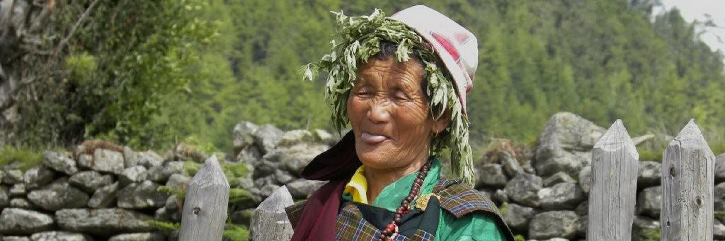 Aufgrund der fruchtbaren Böden im Paro-Tal können dort Reis, Äpfel und Kartoffeln angebaut werden.
