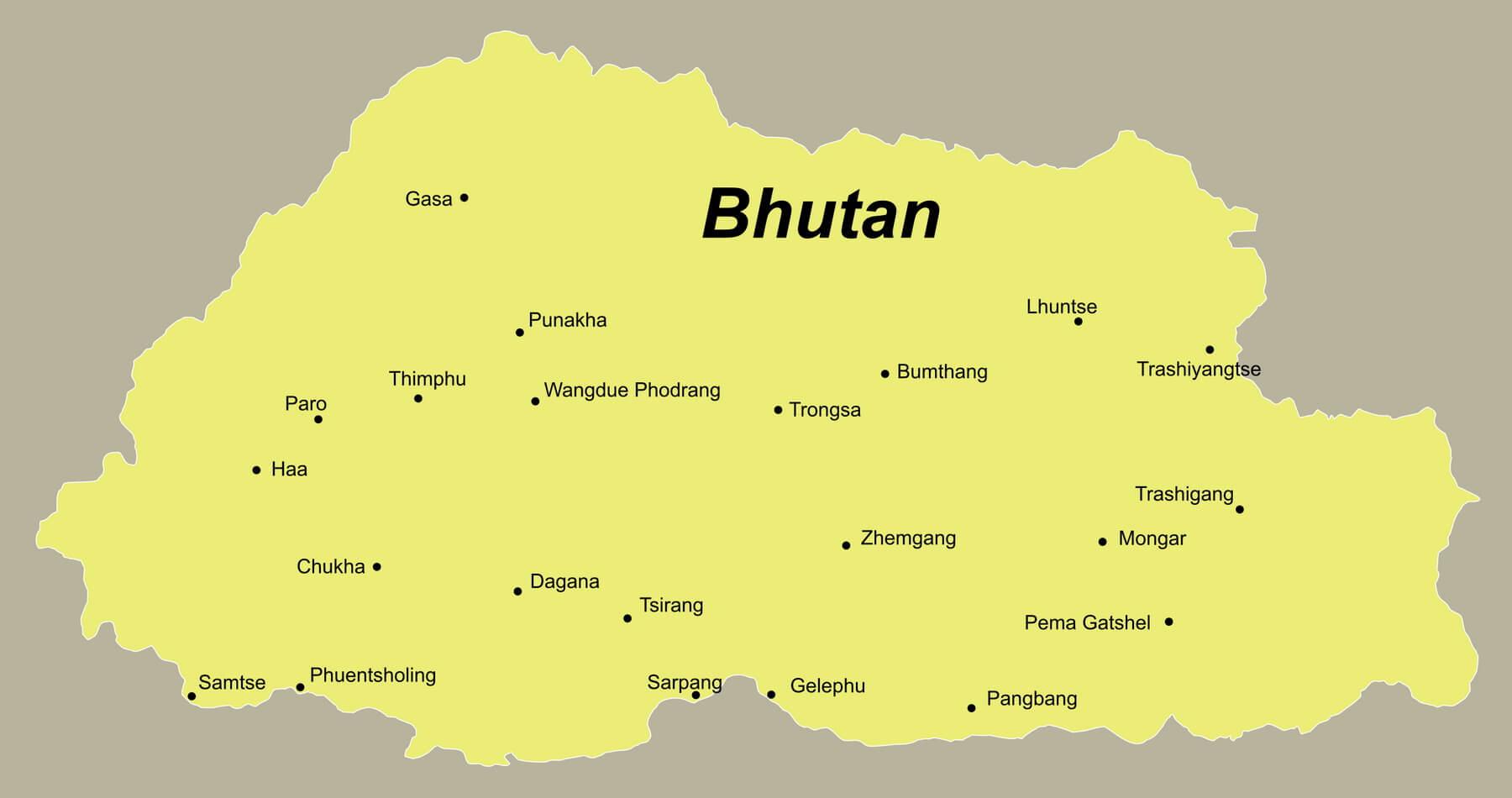 Bhutan Urlaub anspruchsvoll mit dem Reiseveranstalter reisefieber planen und reisen
