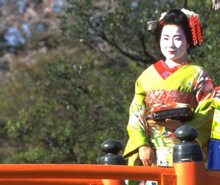 Die von Geishas dargebotenen Künste haben in Japan Jahrhunderte alte Tradition.