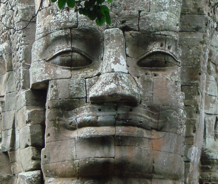 Bayon Tempel, ehemaliges Zentrum von Angkor Thom, ein Highlight von Indochina