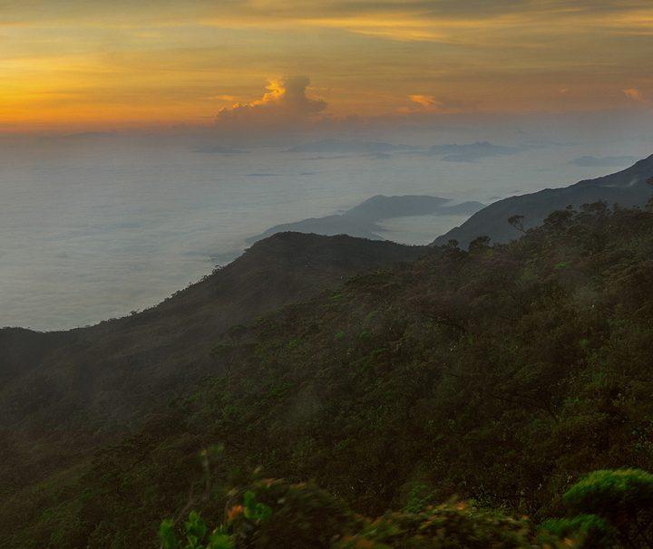 Der Berg Gunung Tahan im Taman-Negara-Nationalpark ist mit 2187 m der höchste Berg der Malaiischen Halbinsel.