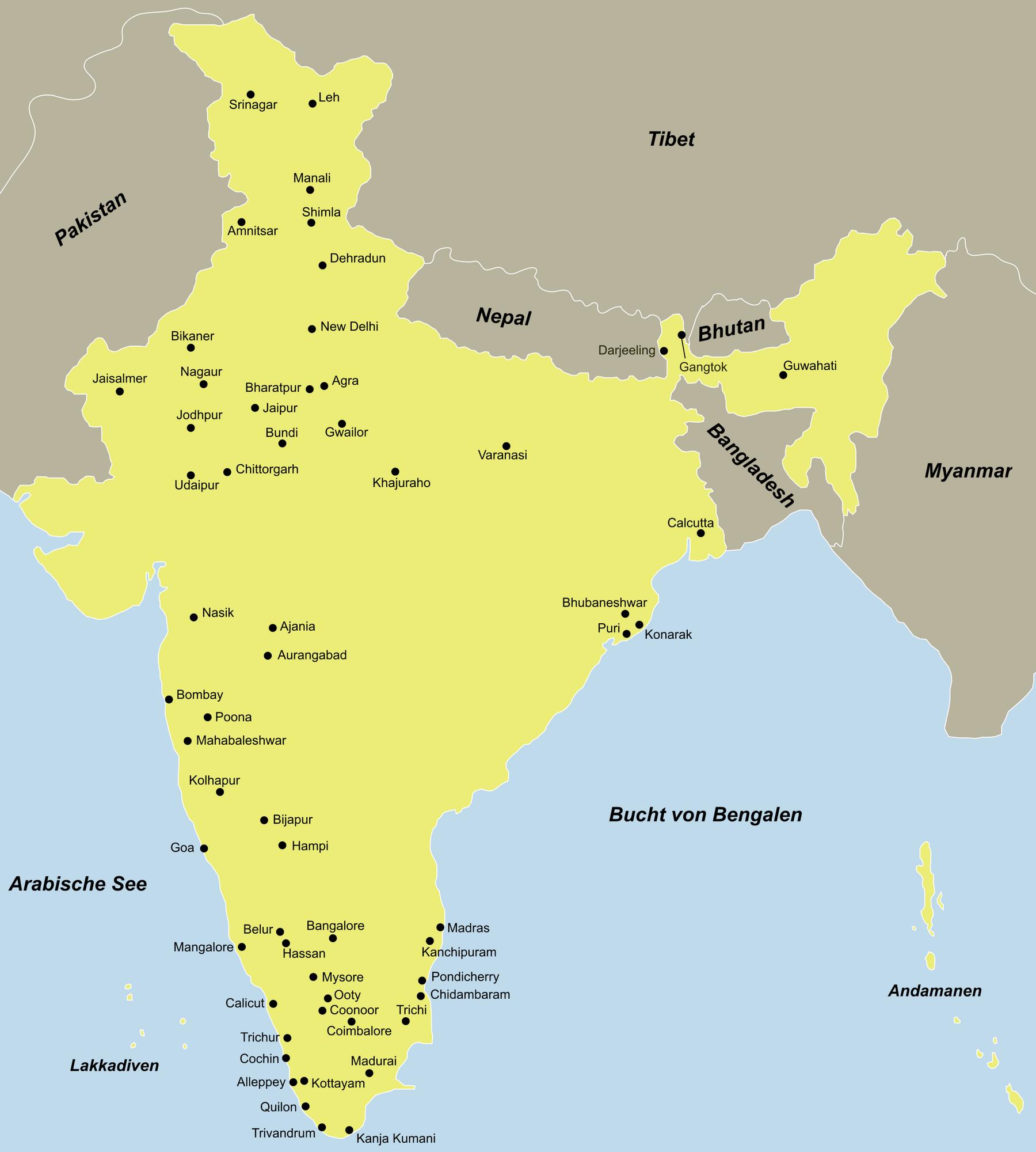 Indien Traumurlaub anspruchsvoll mit dem Reiseveranstalter reisefieber planen und reisen.