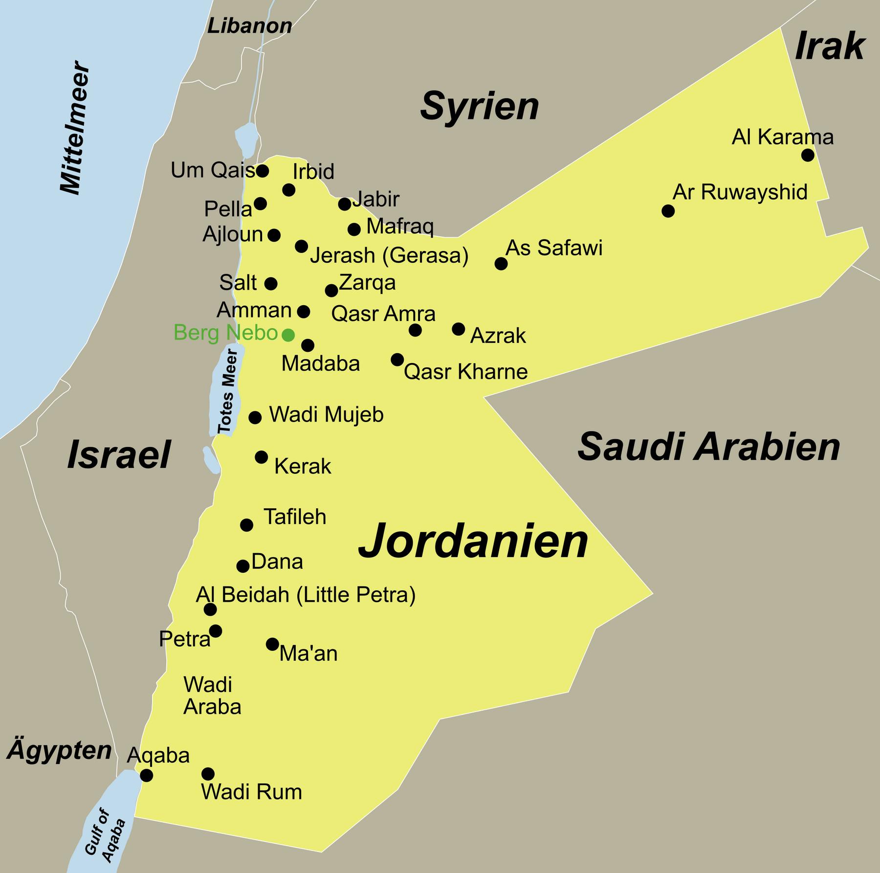 Jordanien Traumurlaub anspruchsvoll mit dem Reiseveranstalter reisefieber planen und reisen.