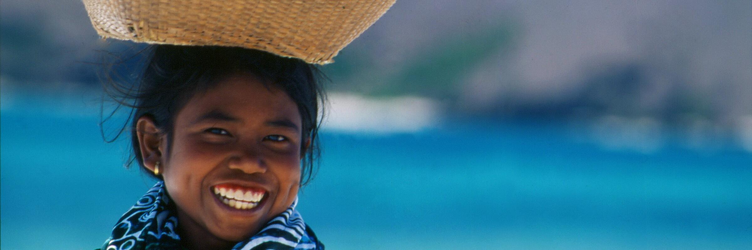 Obwohl Tanjung Beach auf Bali als Wassersportparadies bekannt ist, gibt es noch genug ruhige Strandabschnitte zum Entspannen.