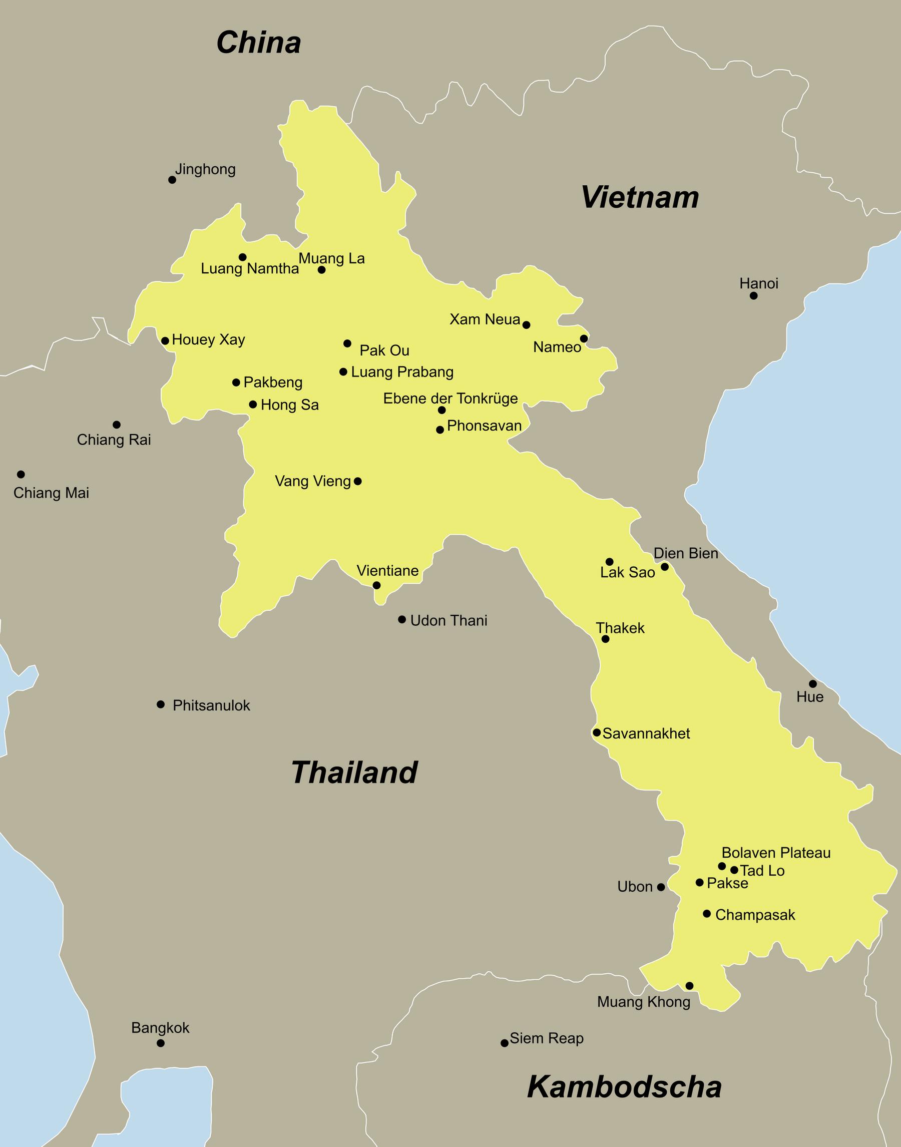 Laos Traumurlaub anspruchsvoll mit dem Reiseveranstalter reisefieber planen und reisen.