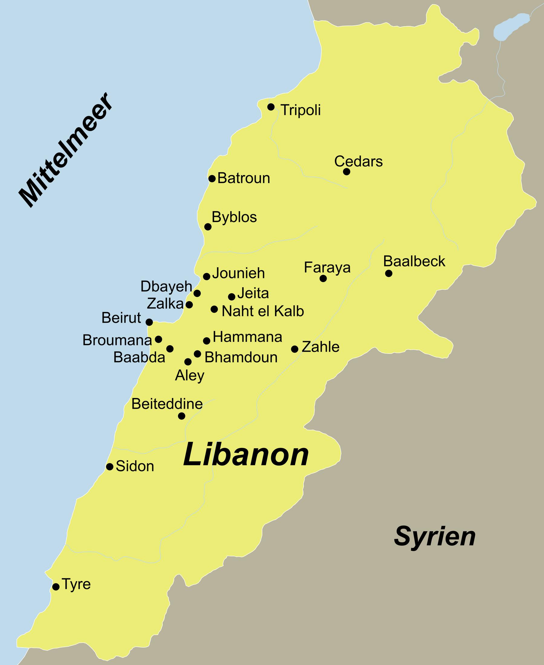 Libanon Traumurlaub anspruchsvoll mit dem Reiseveranstalter reisefieber planen und reisen.