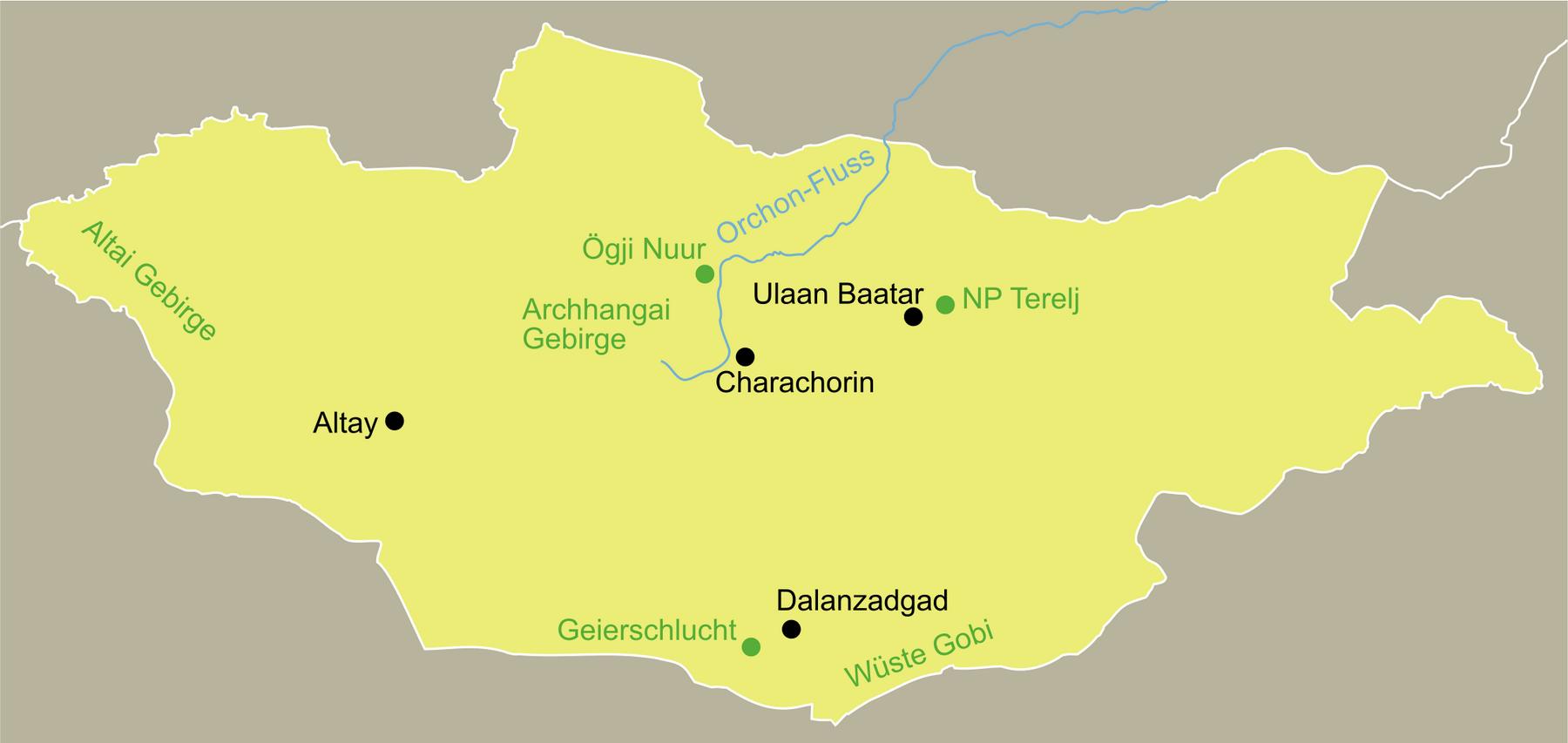 Mongolei Traumurlaub anspruchsvoll mit dem Reiseveranstalter reisefieber planen und reisen.