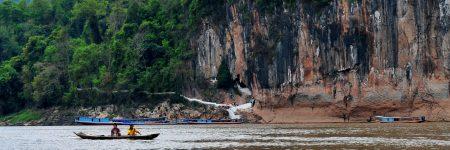 Die Pak Ou Höhlen befinden sich ca. 25 km nördlich von Luang Prabang direkt am Mekong