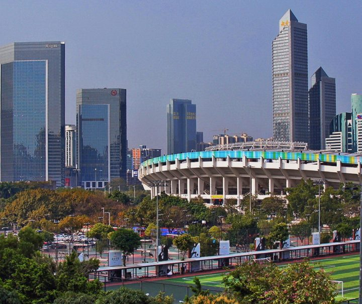 Die chinesischen Metropole Guangzhou ist Hauptstadt der Provinz Guangdong und ein bedeutender Industrie- und Handelsstandort.