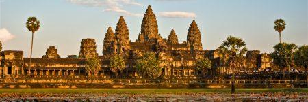 Die beeindruckende Tempelanlage Angkor Wat ist die mit Abstand bekannteste in Kambodscha.