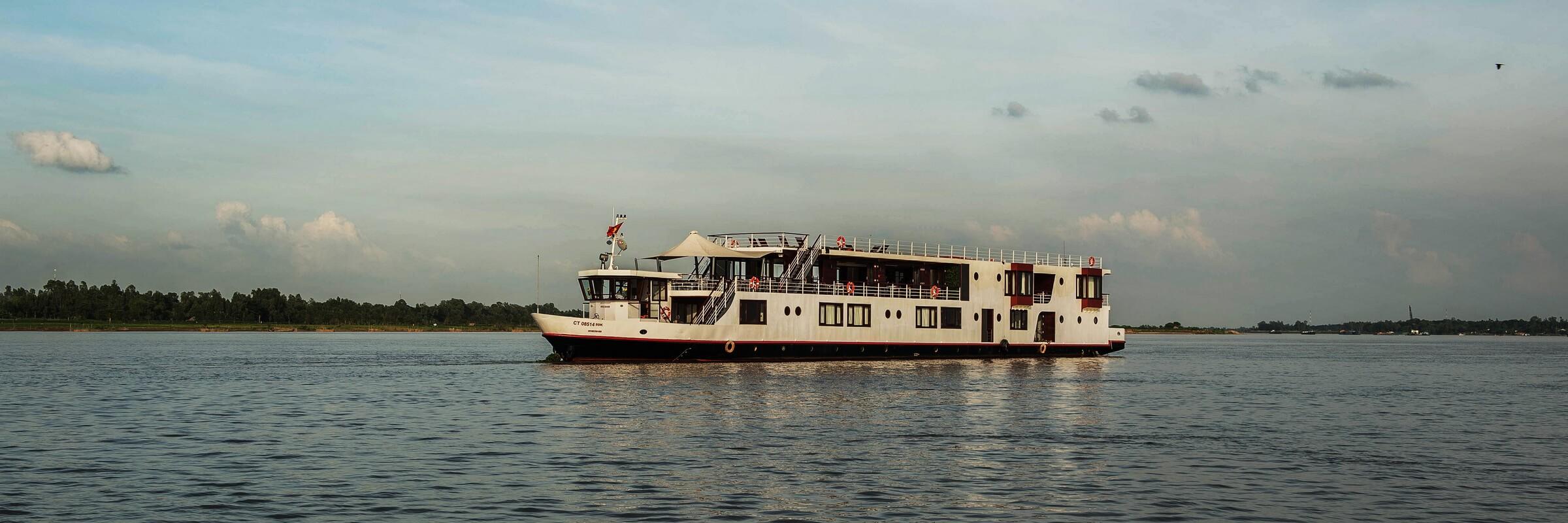 Vietnam erkunden bei einer Mekong Flusskreuzfahrt auf der Mekong Eyes Explorer