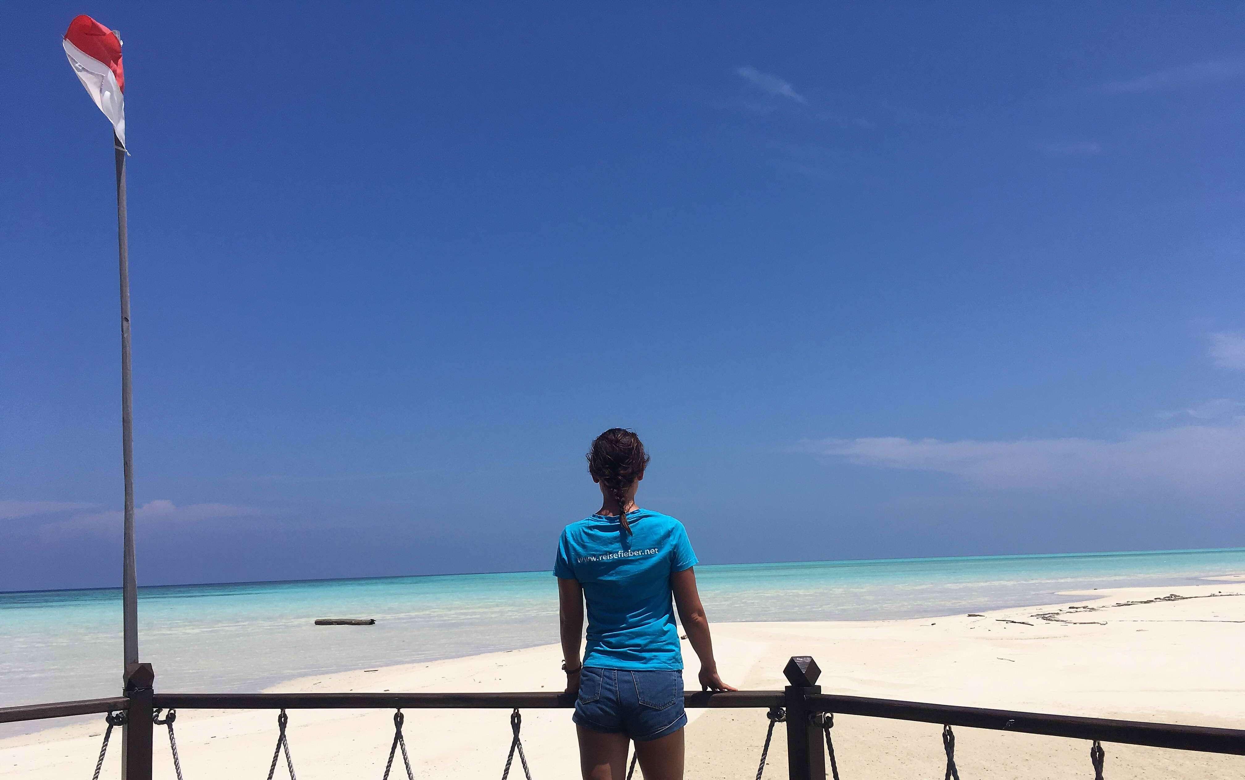 Unsere Reiseexperten auf Virgin Cocoa Island in Indonesien