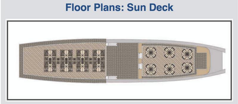 Der Deckplan der Mekong Eyes Classic