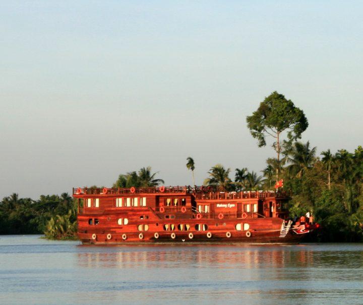 Flusskreuzfahrt im Mekong Delta