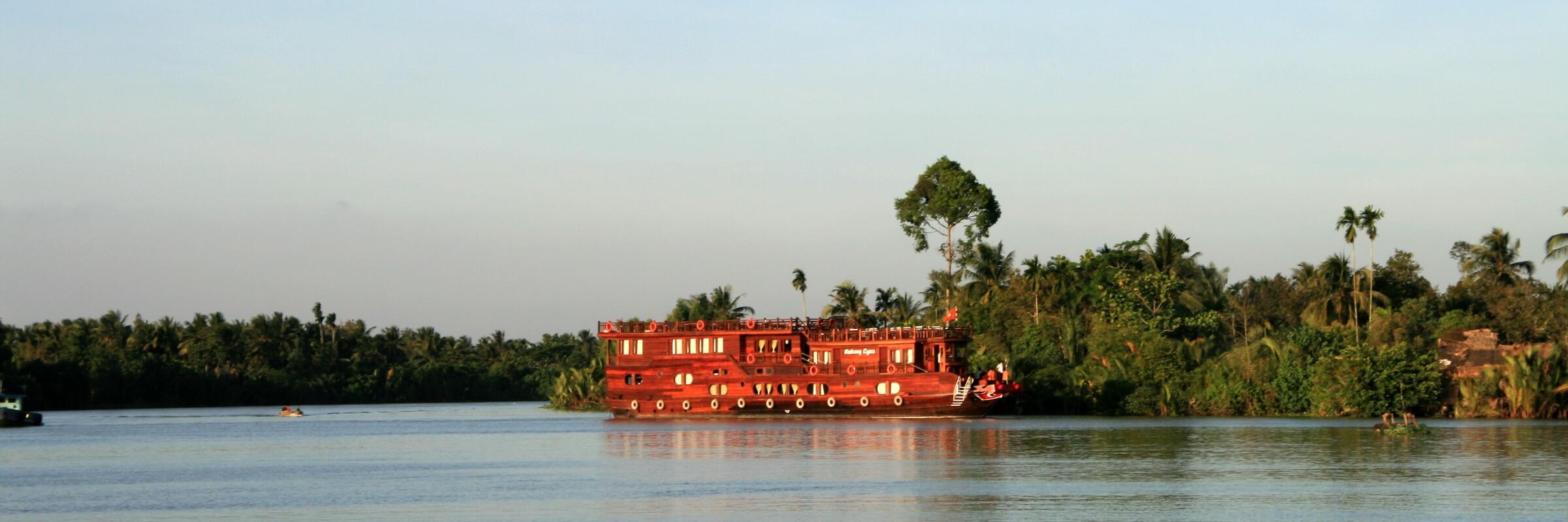 Auf dem Mekong, im Mekong Delta und in der Ha Long Bucht