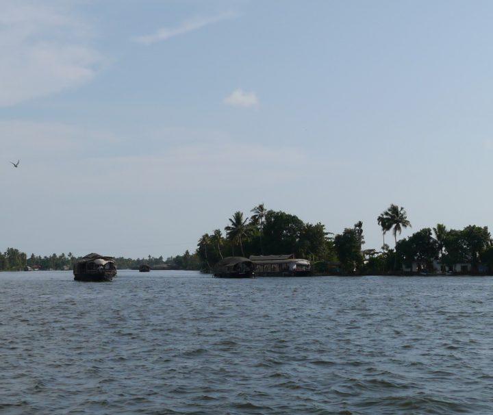 MIt dem Hausboot Südindien auf den Backwaters