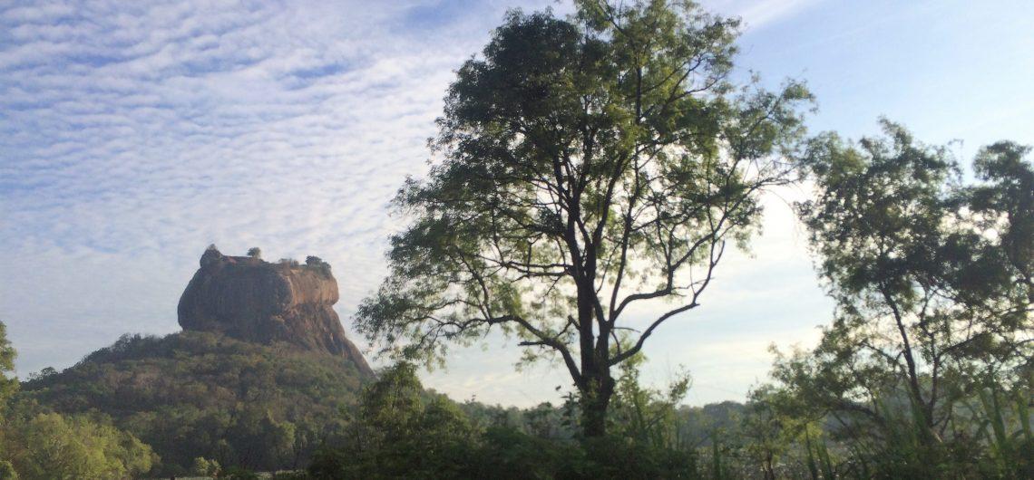 Das Hightlight einer Sri Lanka Reise, der Löwenfelsen.