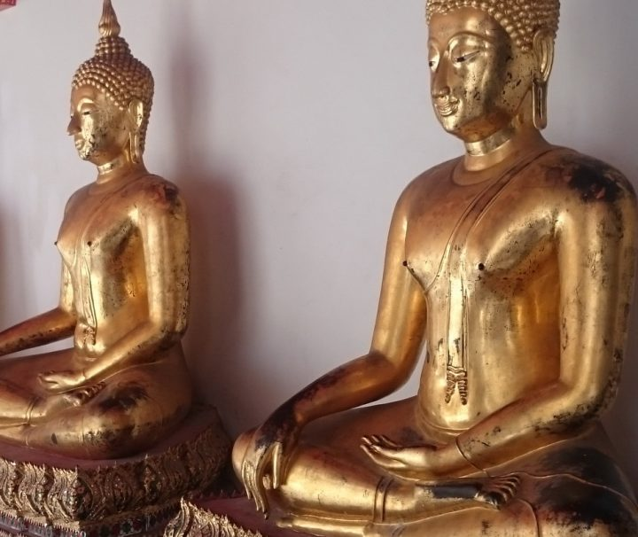 Wat Pho ist ein buddhistischer Tempel der sich im Zentrum von Bangkoks historischer Altstadt, südlich des Königspalastes, befindet.