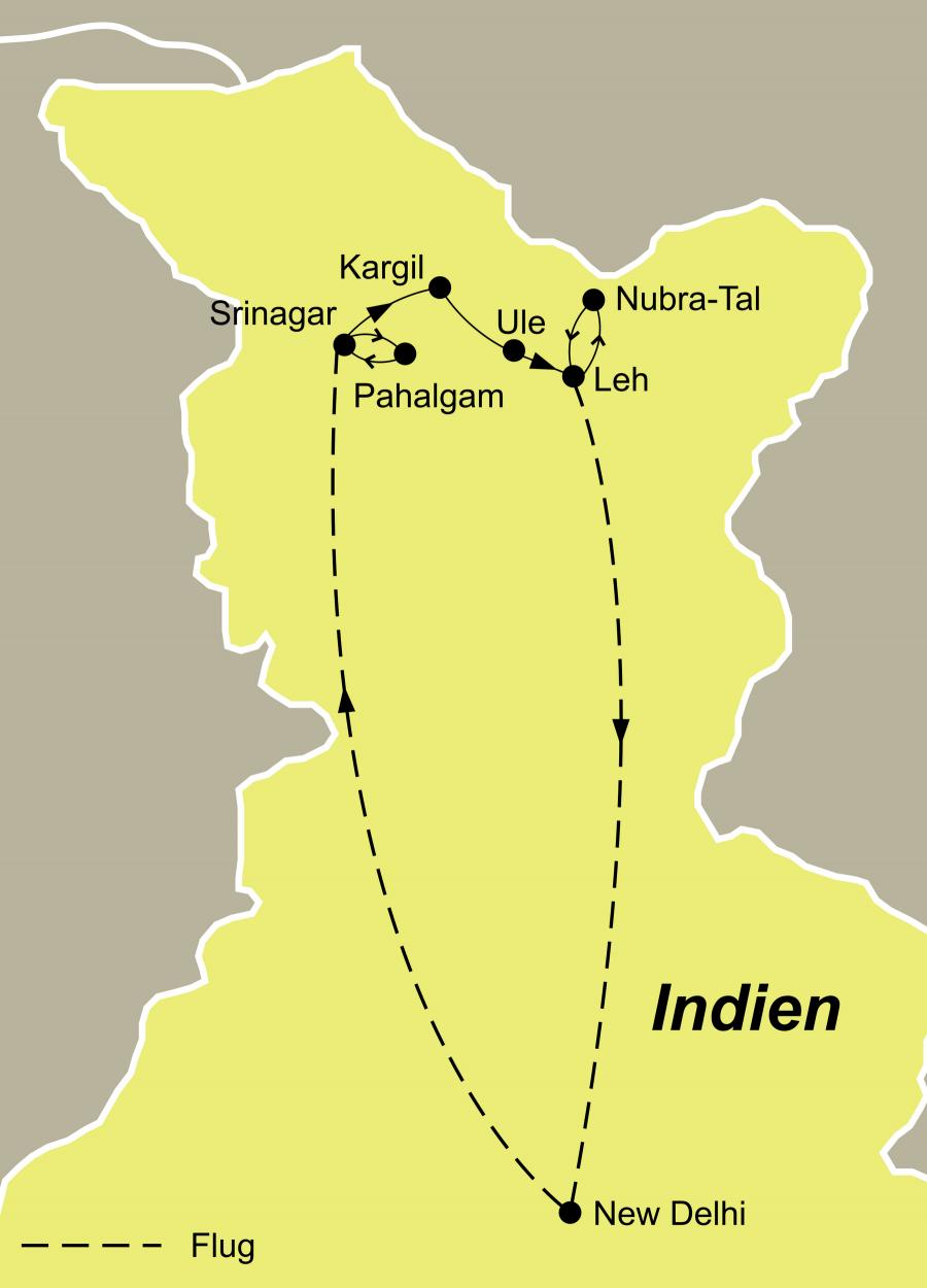 Kashmir Ladakh – Abenteuerreise auf dem Dach der Welt