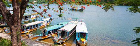 Der Fluss der Wohlgerüche, kurz Parfümfluss genannt, ist ein langsam fließender Fluss in Zentralvietnam.