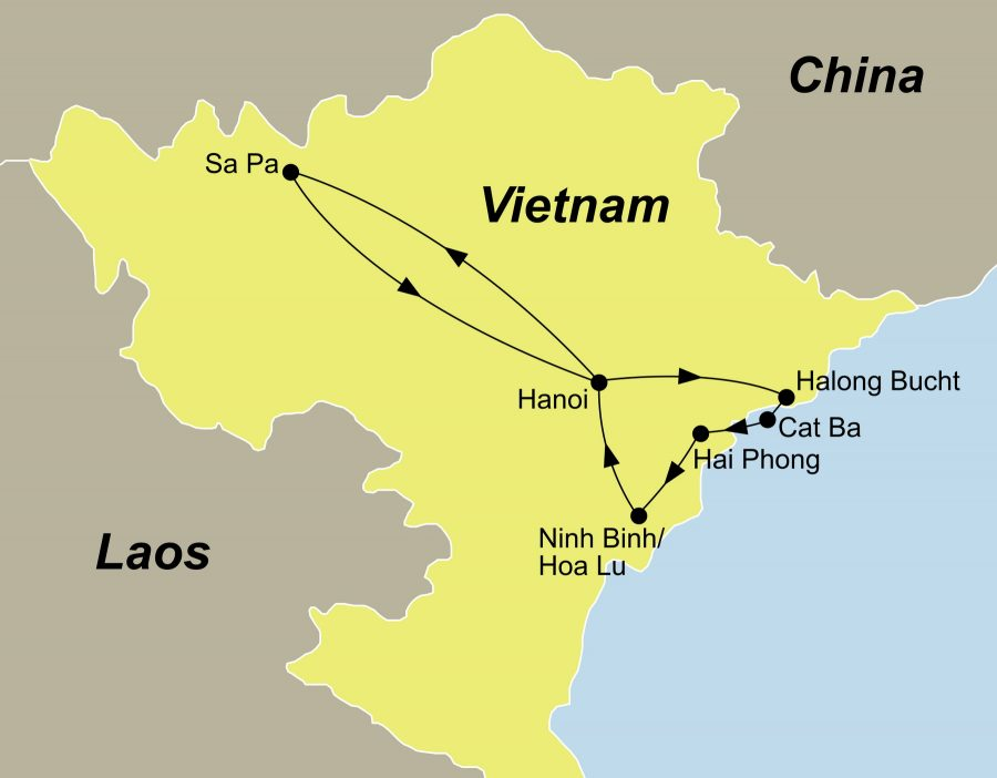 Vietnam Rundreisen anspruchsvoll mit dem Reiseveranstalter reisefieber planen und durchführen