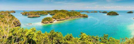Der Inselstaat Philippinen ist ein Archipel mit 7107 Inseln im westlichen Pazifischen Ozean.