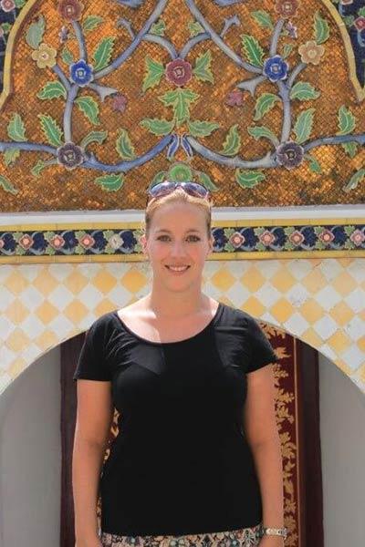 anine Klein die Reiseexpertin für Thailand, Malaysia und Borneo unterwegs für Reisefieber Reisen.