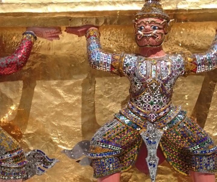 Der Königspalast von Bangkok war bis Anfang des 20. Jahrhunderts die Residenz der Herrscher Thailands