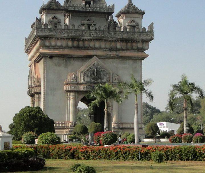 Triumphbogen Patuxai in Vientiane