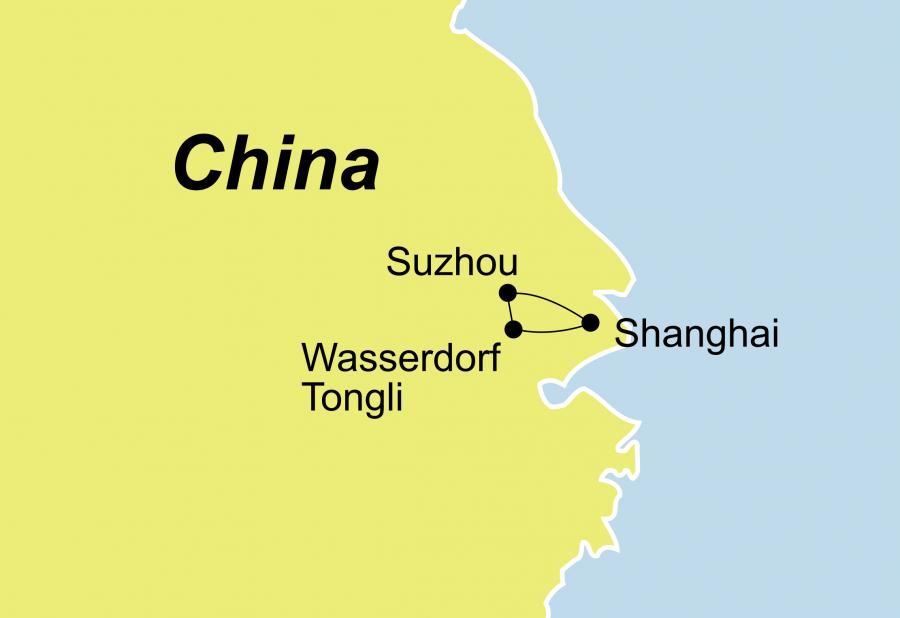 Privatreise Shanghai und Umgebung