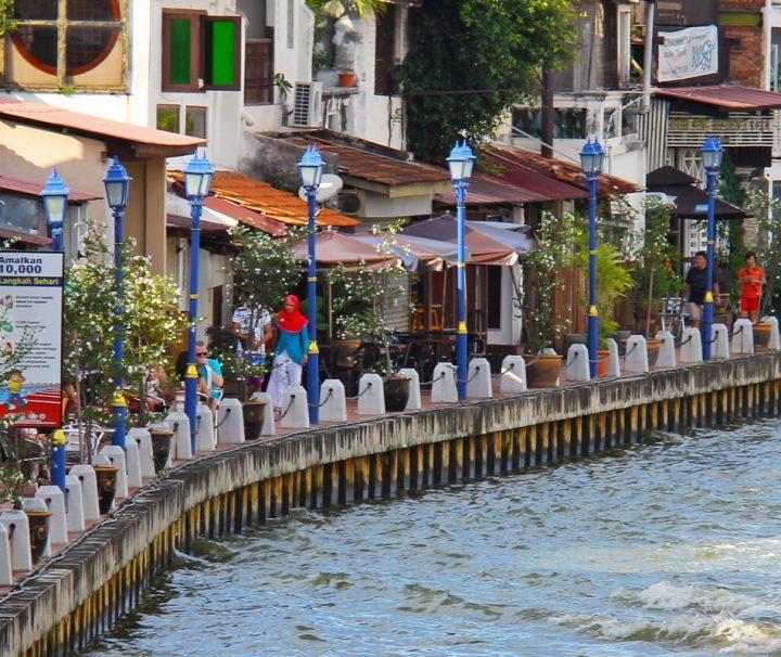 Stadtrundfahrt in Malacca