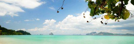 Die kleine Insel Koh Kradan in der Andamanensee gilt als absoluter Geheimtipp, sie bietet nur einige wenige Resorts und hat weder Straßen noch Dörfer.