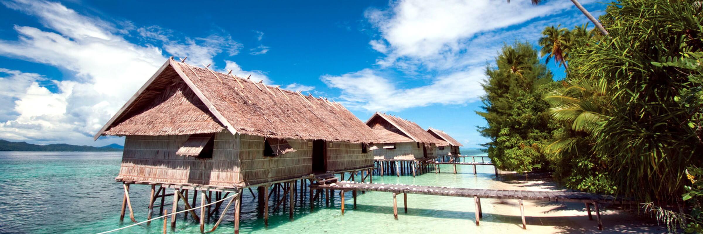 Aussenansicht des traumhaften Kri Eco Resort