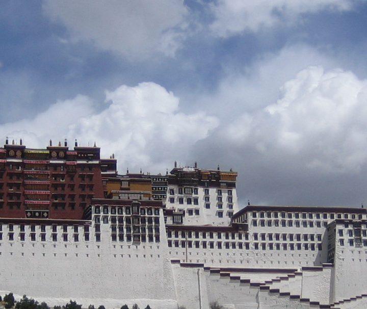 Ein beeindruckendes Gebäude: der Potala Palast in Lhasa
