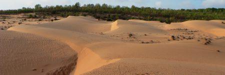Das kleine, auf einer Halbinsel gelegene, Fischerdorf Mui Ne ist neben seinem Traumstrand vor allem für die Sanddünen in seiner Umgebung bekannt.